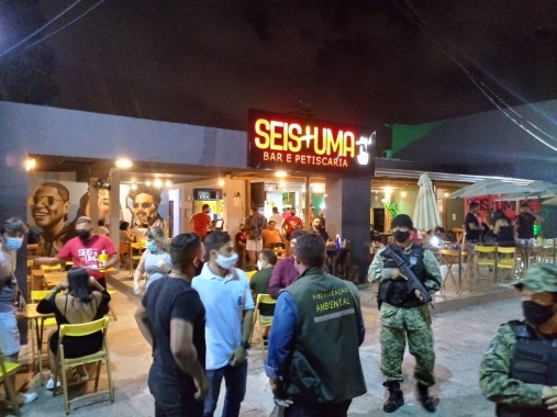 Novo decreto: Prefeitura autua 11 e interdita 3 estabelecimentos por  funcionamento após às 22h