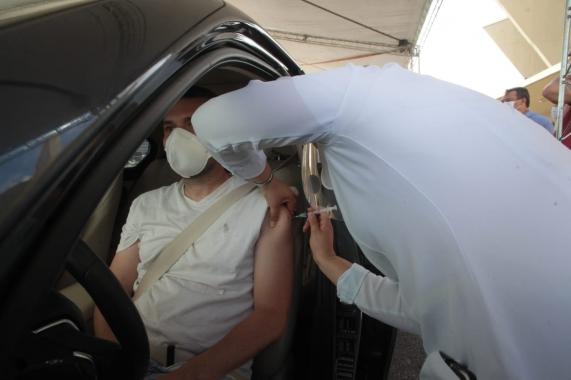 Covid-19: Natal vacina 23.962 pessoas na primeira fase