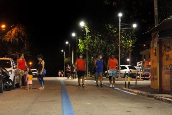 Prefeitura do Natal entrega iluminação moderna da Alameda Antônio Basílio